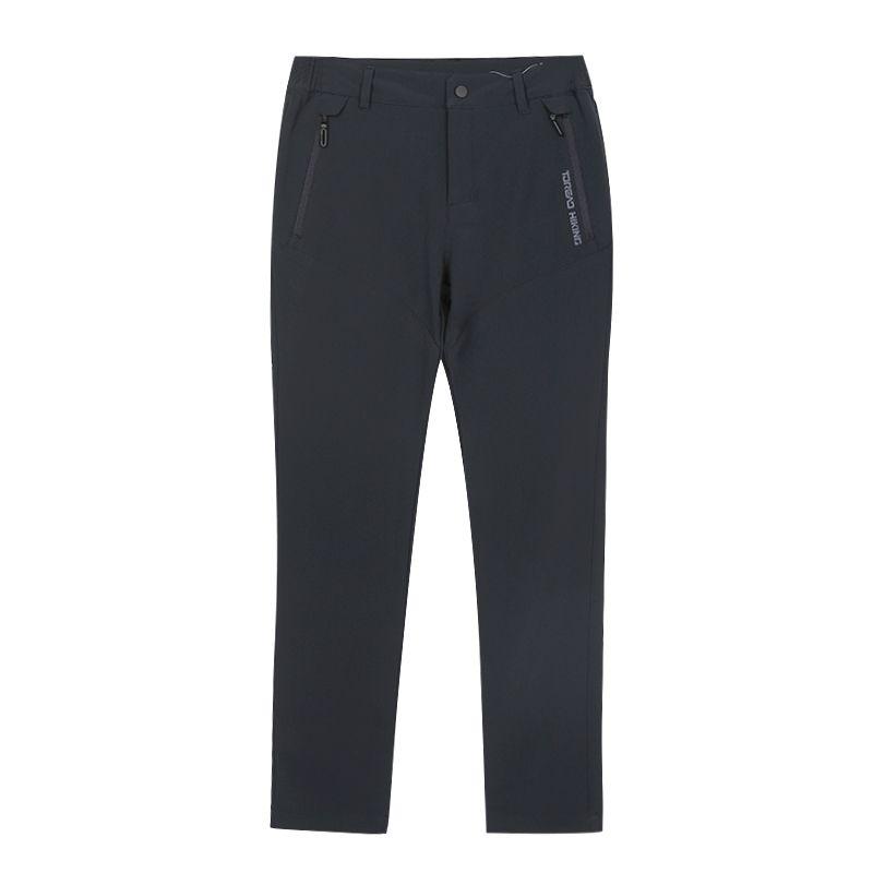 探路者 TOREAD 女子 户外弹力透气舒适跑步登山软壳长裤 TAMH92289-F87X