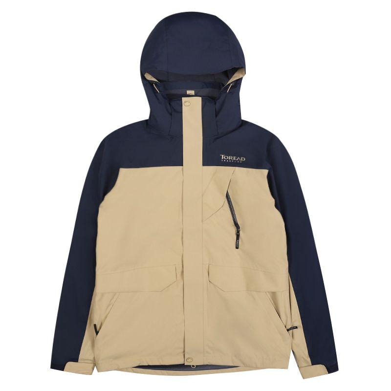 探路者 TOREAD 男子 防水透湿套绒三合一冲锋衣 TAWH91733-B72F
