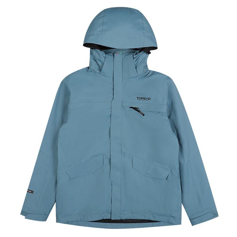 探路者 TOREAD 男子 户外运动服登山徒步野营防风舒适透气三合一冲锋衣 TAWH91901-C26X