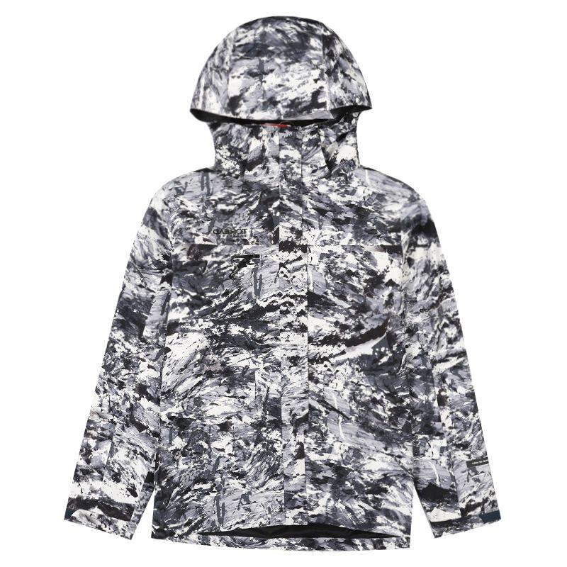 探路者 TOREAD 男子 户外透湿防风保暖舒适套绒冲锋衣 TAWH91901-C27H