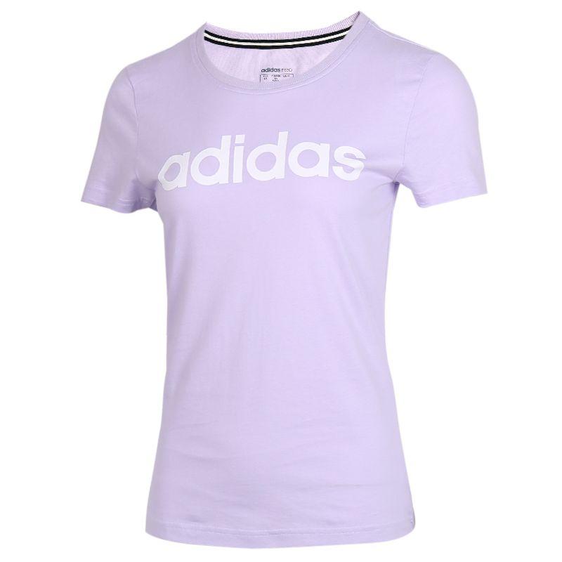 阿迪生活Adidas NEO 女装 运动跑步休闲T恤 GL1178