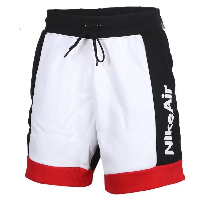 耐克NIKE AS MNSW AIR SHORT FLC 男装 宽松透气篮球运动五分短裤 CJ4833-101
