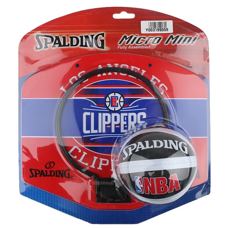 斯伯丁Spalding 迷你室内户外壁挂式小篮板家用篮球架 77-652Y