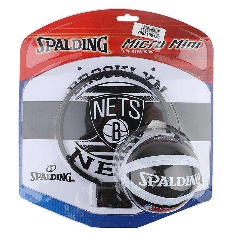 斯伯丁Spalding  迷你室内户外壁挂式小篮板家用篮球架 77-662Y