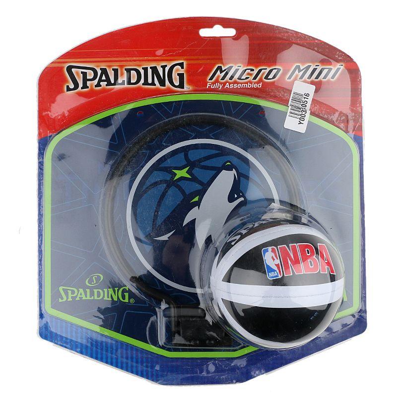 斯伯丁Spalding 球类 迷你室内户外壁挂式小篮板家用篮球架 77-667Y