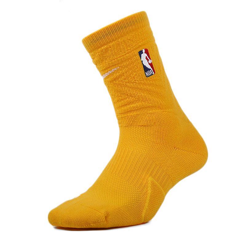 耐克NIKE 男子 运动洛杉矶湖人队男子篮球袜子 SX7879-728