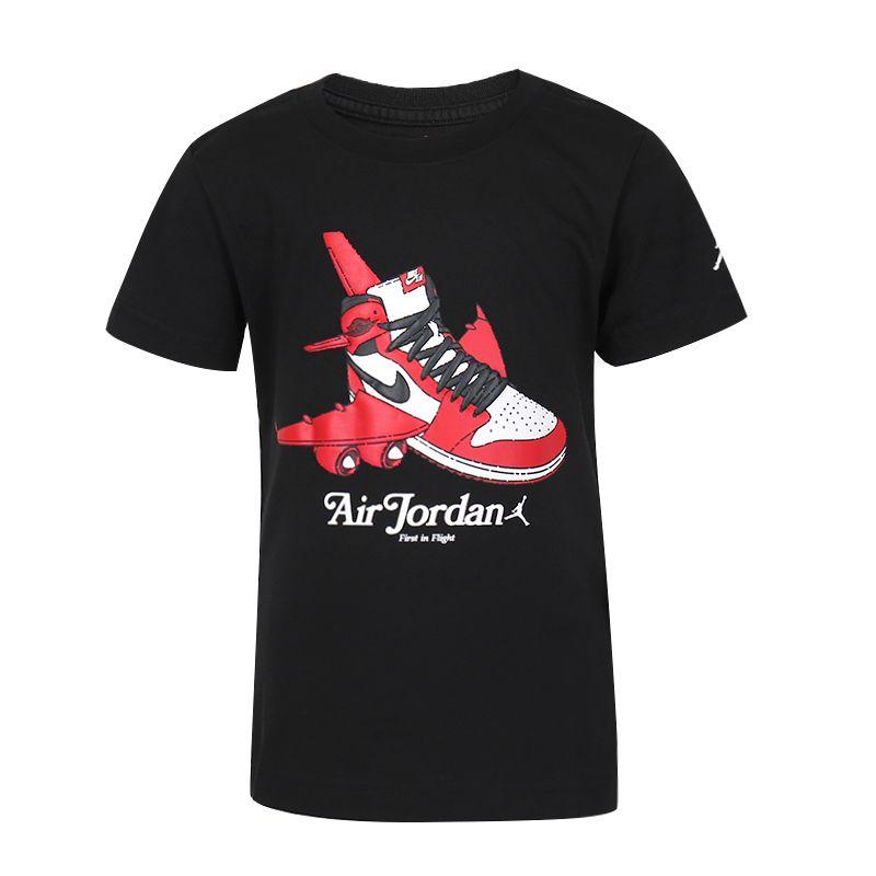 耐克NIKE  AIR JORDAN 儿童 运动服舒适透气休闲短袖T恤 JD2032013PS-002
