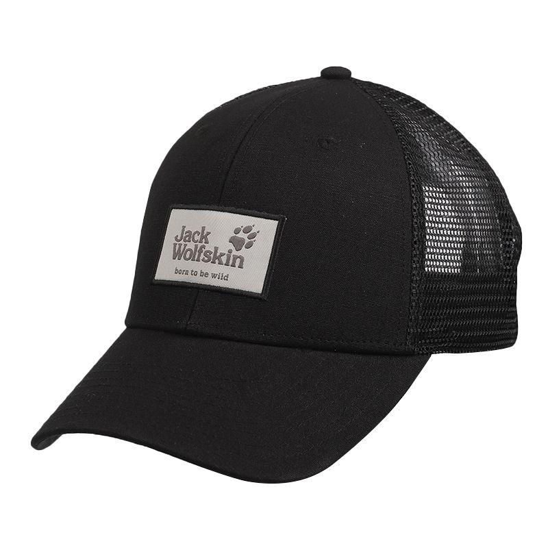 狼爪Jack wolfskin 男女 运动户外休闲网状棒球鸭舌帽 1905621-6000
