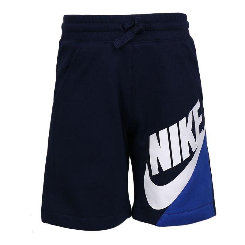耐克NIKE 儿童 运动裤休闲时尚潮流舒适透气五分短裤  NY2022085PS-002