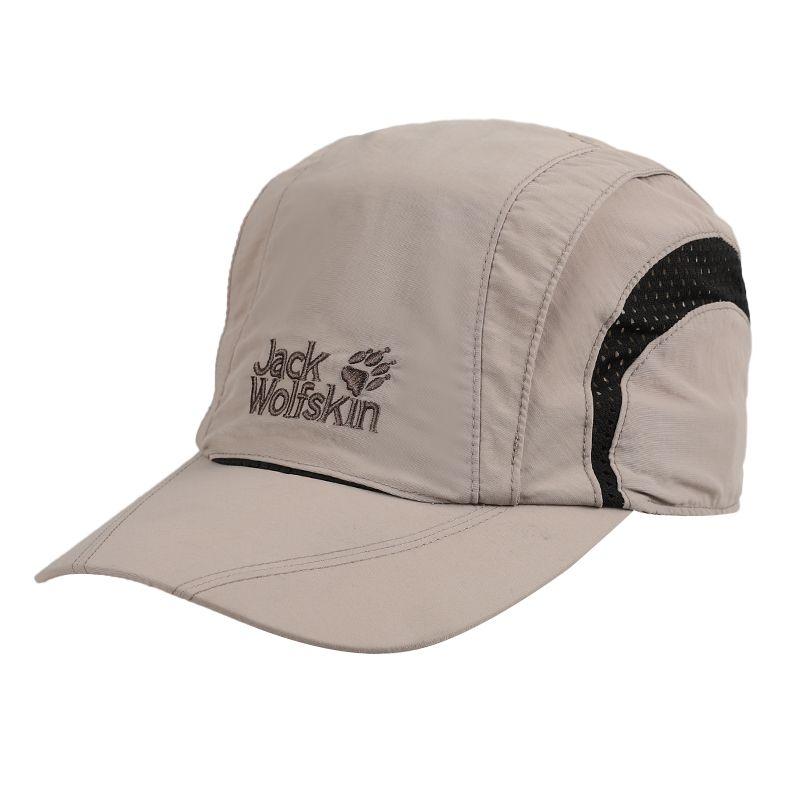 狼爪Jack wolfskin 男女 户外运动帽棒球帽透气鸭舌帽 19222-5041