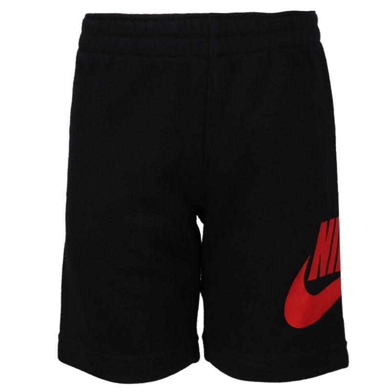 耐克NIKE 儿童 时尚休闲运动柔软舒适短袖短裤五分裤套装 NY2022086TD-002