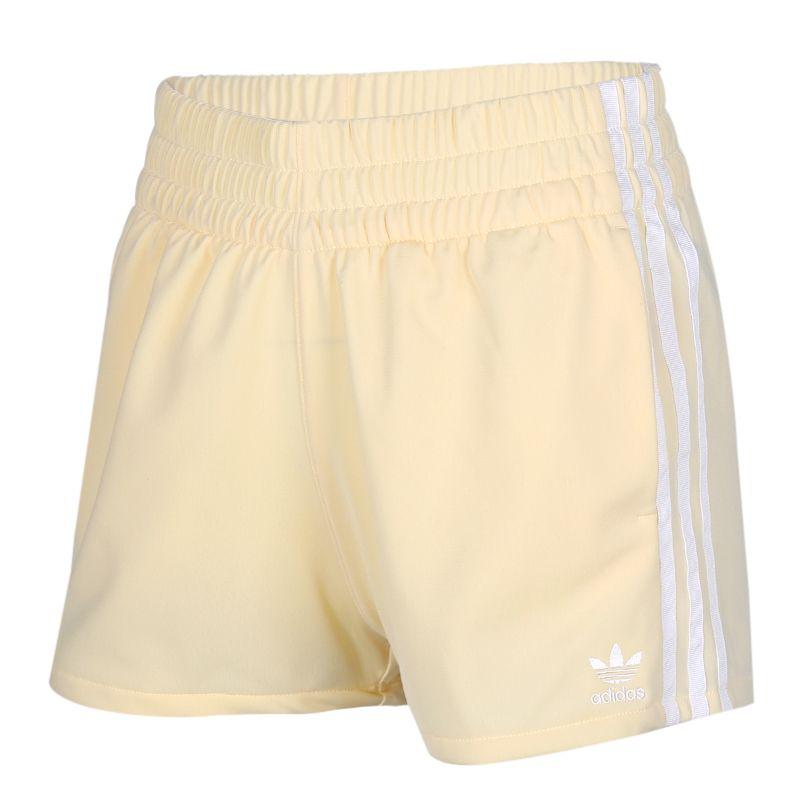 阿迪达斯三叶草adidas  女装 运动跑步训练健身舒适快干透气休闲五分梭织短裤 FM2607