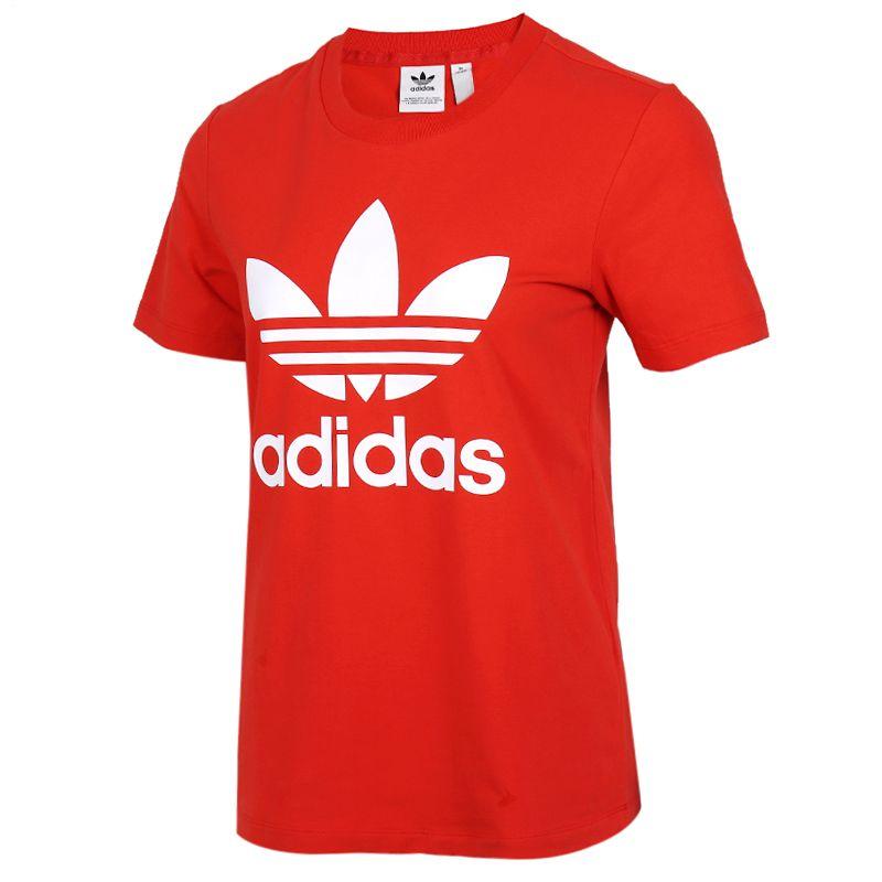 阿迪达斯三叶草adidas 女装 运动跑步训练健身透气舒适休闲圆领短袖T恤 FM3302