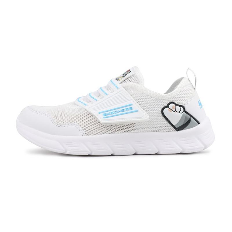 斯凯奇Skechers 儿童 休闲透气跑步鞋 664156L-WHT