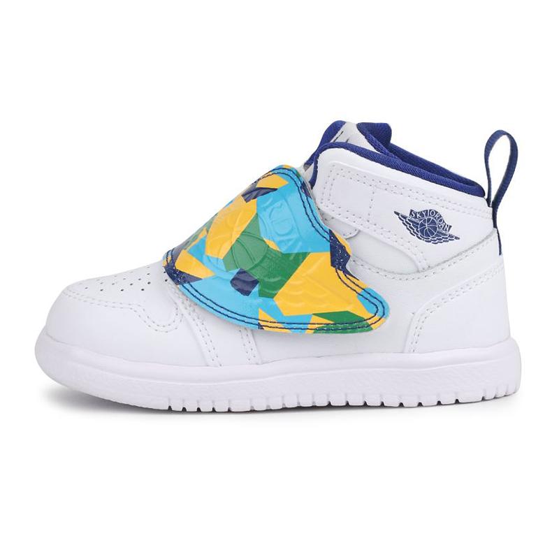 耐克 Nike 儿童 飞人鸳鸯运动鞋场上训练耐磨透气休闲篮球鞋 BQ7196-100