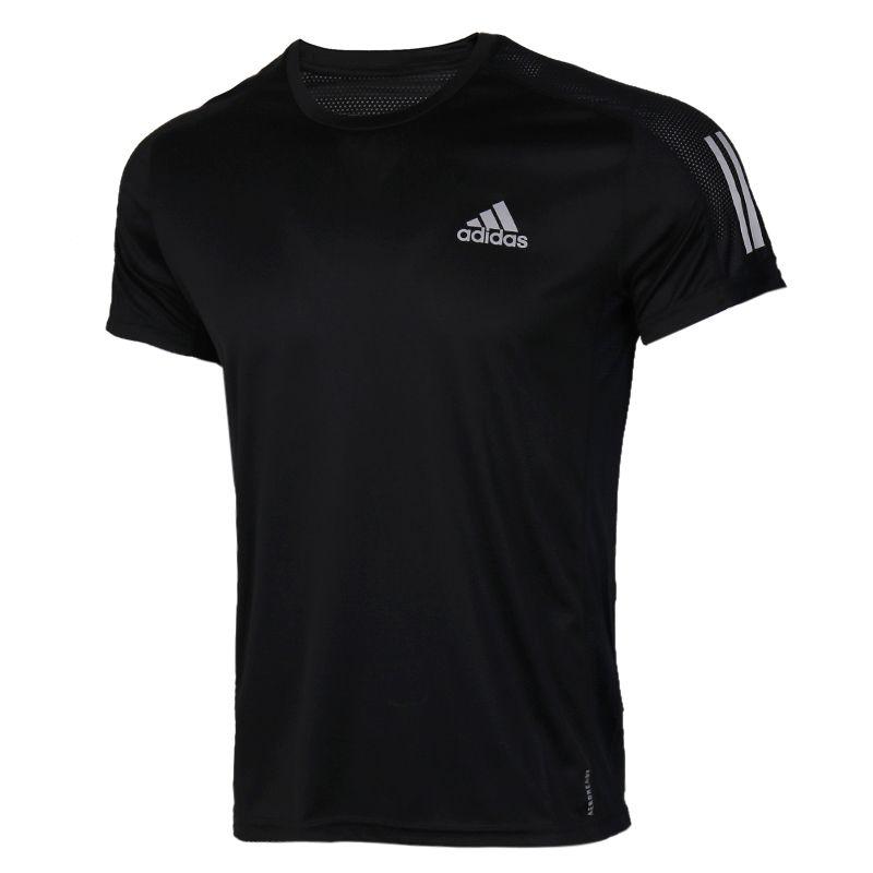 阿迪达斯adidas 男装 跑步运动短袖T恤 FS9799