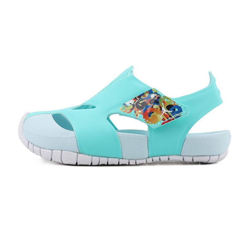 耐克NIKE 儿童 运动防撞包头凉鞋 CI7849-301