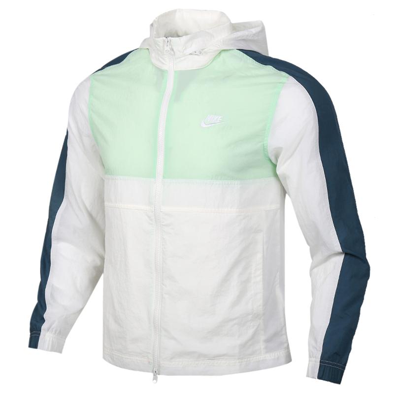 耐克NIKE NSW CE TRK JKT WVN 男装 运动休闲防风衣夹克外套 CU4310-133