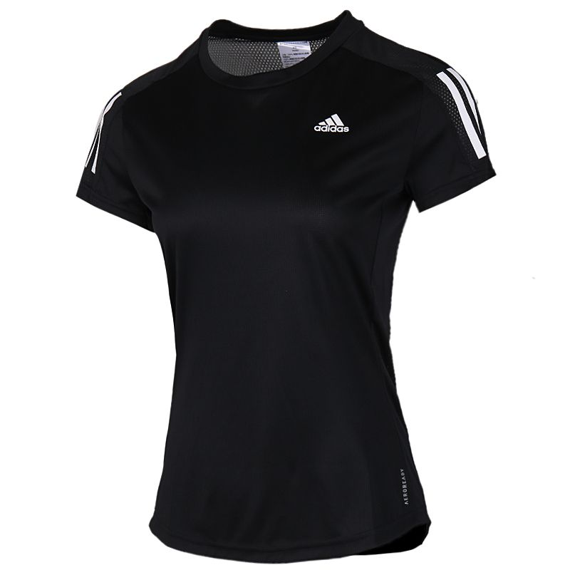 阿迪达斯adidas 女装 运动休闲T恤透气训练 FS9830