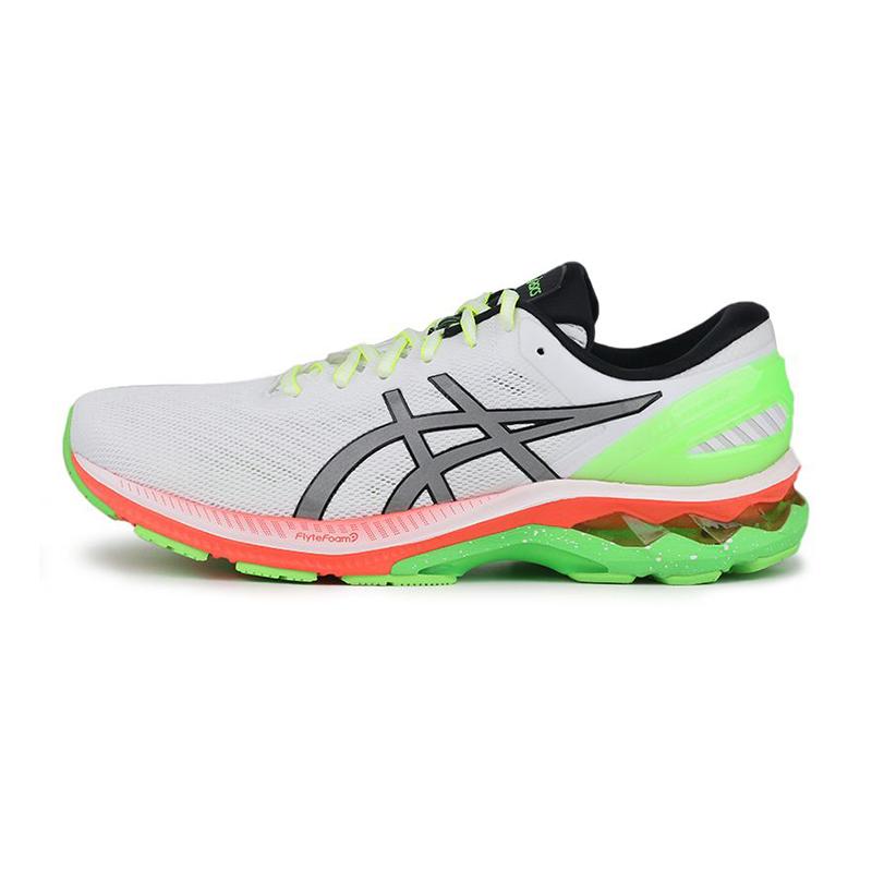 亚瑟士ASICS GEL-KAYANO 27 LITE-SHOW 男鞋 稳定支撑减震透气跑步鞋 1011A885-100