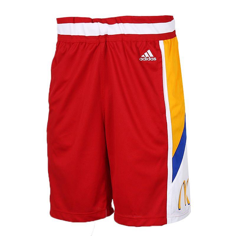 阿迪达斯adidas R MCD SWGM SHR 男装 运动透气针织五分裤 GI9423