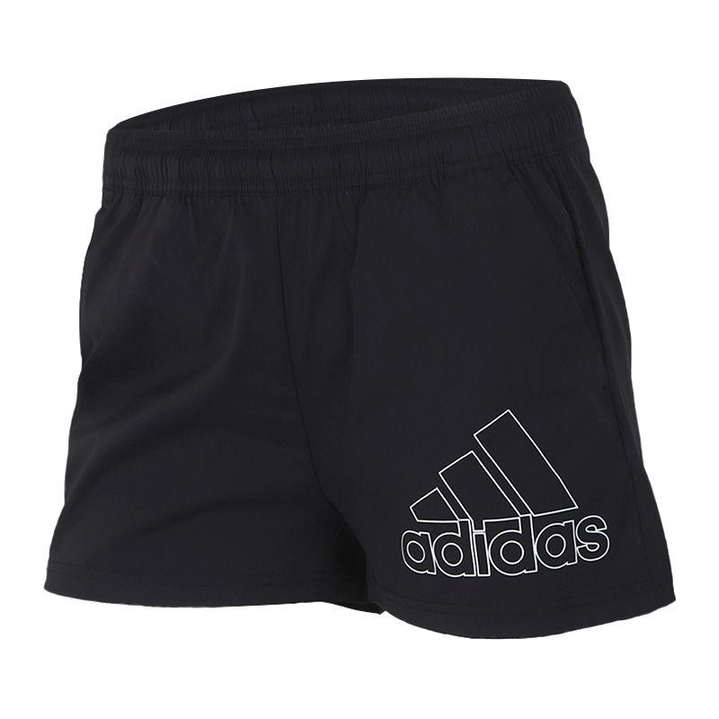阿迪达斯adidas  女装 运动休闲训练健身透气五分裤 GJ9028
