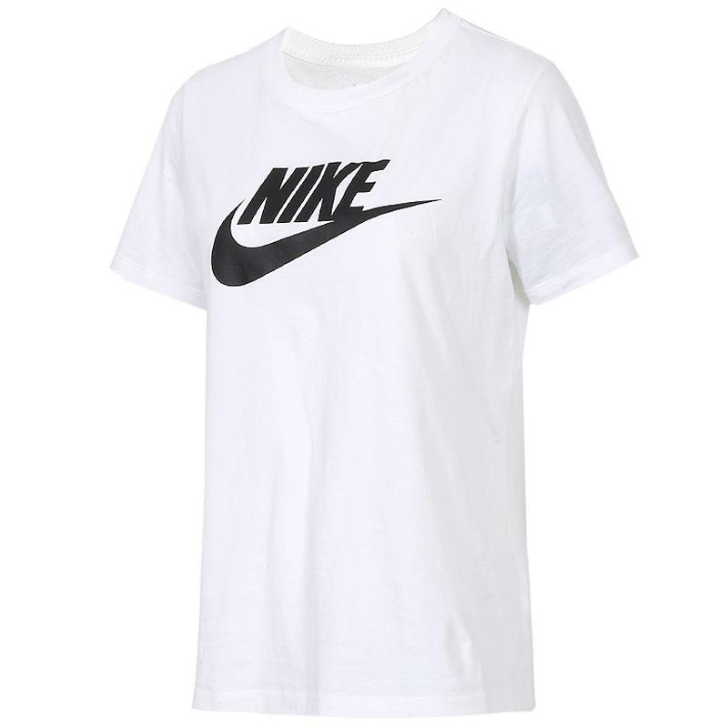 耐克NIKE 女装 短袖T恤 休闲运动服纯棉透气舒适宽松圆领短袖T恤  BV6170-100