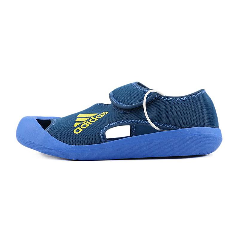 阿迪达斯adidas 儿童 训练舒适透气凉鞋  D97901