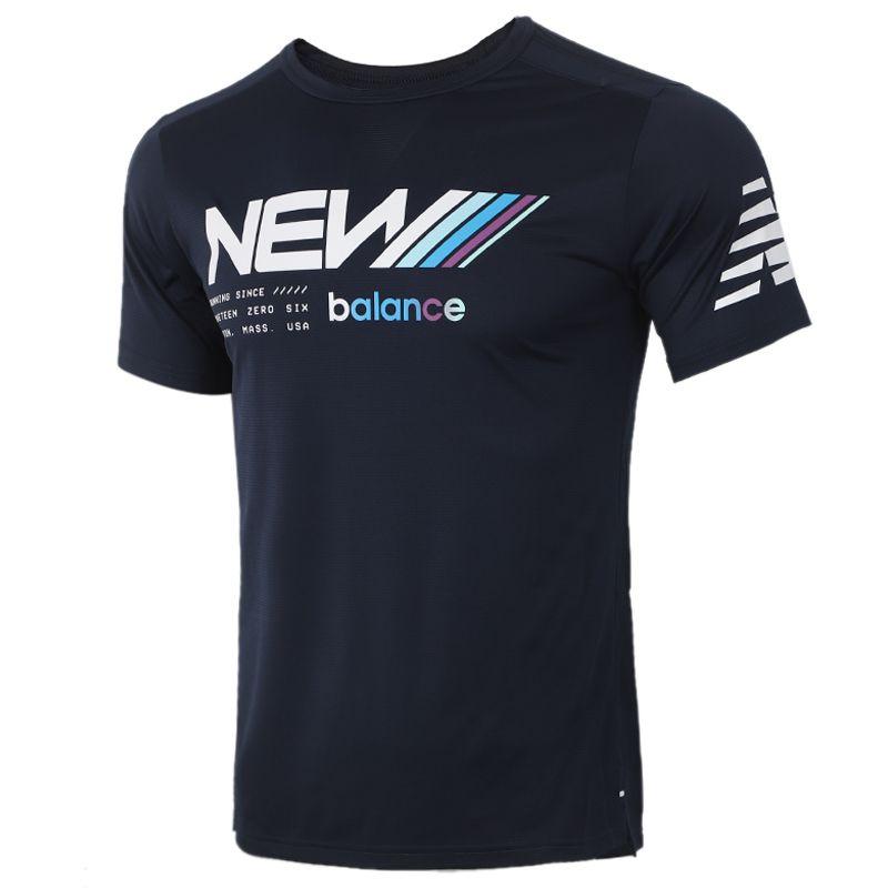 New Balance 男装 运动健身训练T恤 AMT01224-ECL