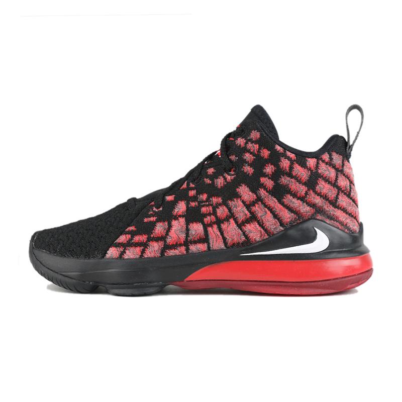 耐克 NIKE  儿童 LEBRON XVII休闲鞋子耐磨时尚篮球鞋 BQ5595-006