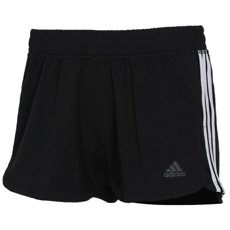 阿迪达斯Adidas  女子  训练运动裤子休闲透气热裤休闲时尚短裤  DU3502