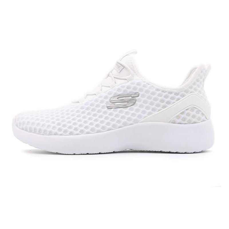 斯凯奇Skechers 女鞋 透气轻便跑步鞋  66666110-WHT (尺码偏大半码)
