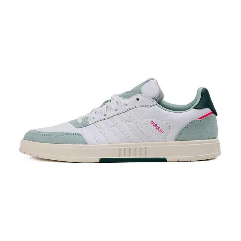 阿迪生活Adidas NEO COURTMASTER 女鞋 运动复古时尚耐磨舒适轻便透气板鞋休闲鞋 FX3453