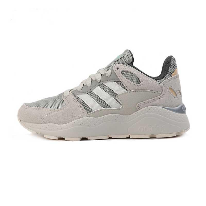 阿迪生活Adidas NEO CRAZYCHAOS 女鞋 低帮运动鞋缓震透气休闲舒适耐磨跑步鞋 EG8766