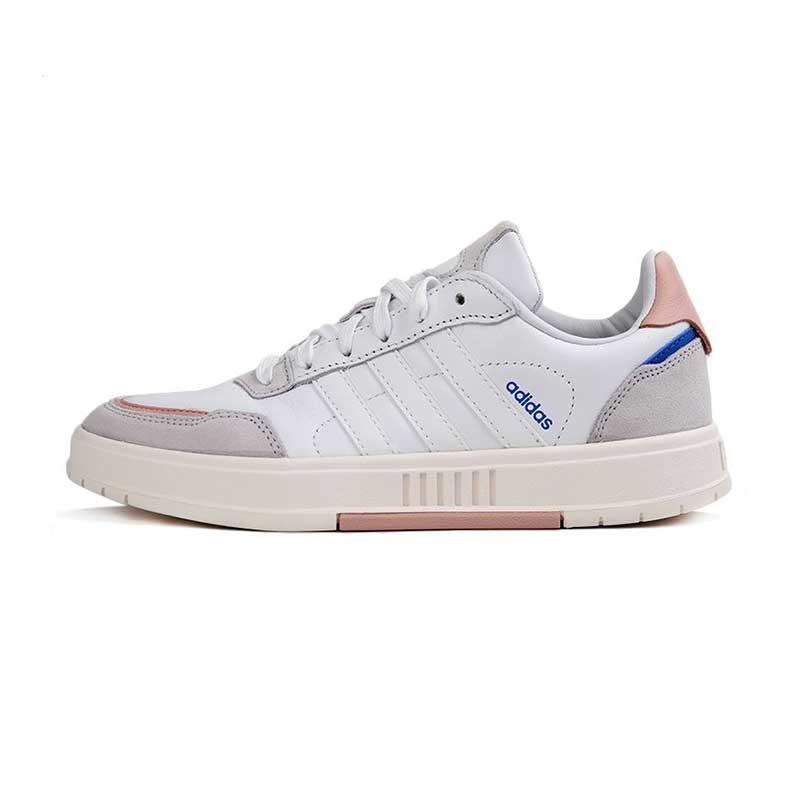 阿迪生活Adidas NEO 女鞋 运动鞋复古时尚耐磨舒适轻便透气板鞋休闲鞋 FX3451