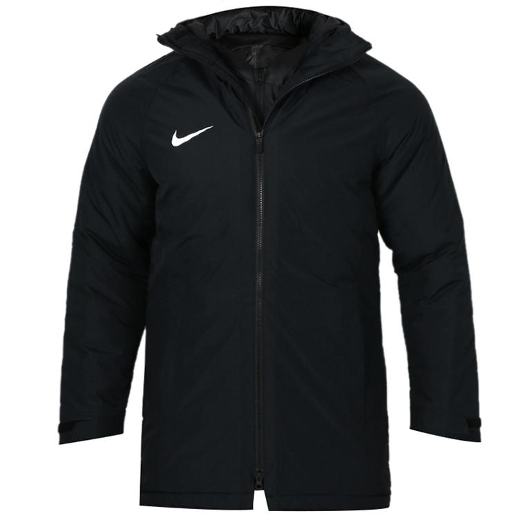 耐克Nike  男子 休闲外套中长款连帽运动棉衣棉服 893799-010