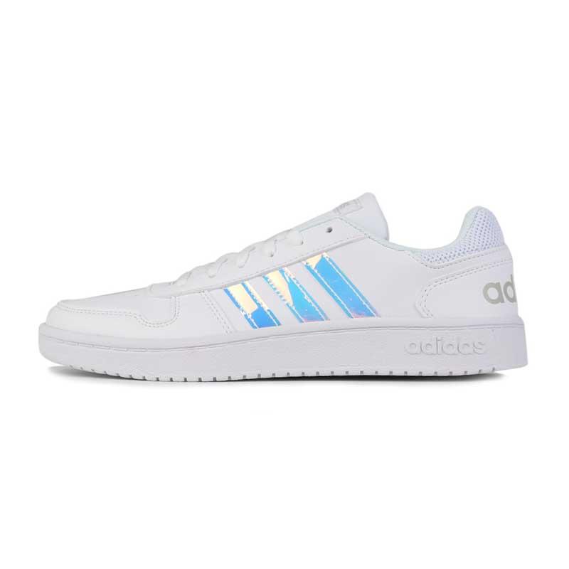 阿迪生活 Adidas NEO HOOPS 2.0 女子 耐磨透气休闲板鞋  EH3412