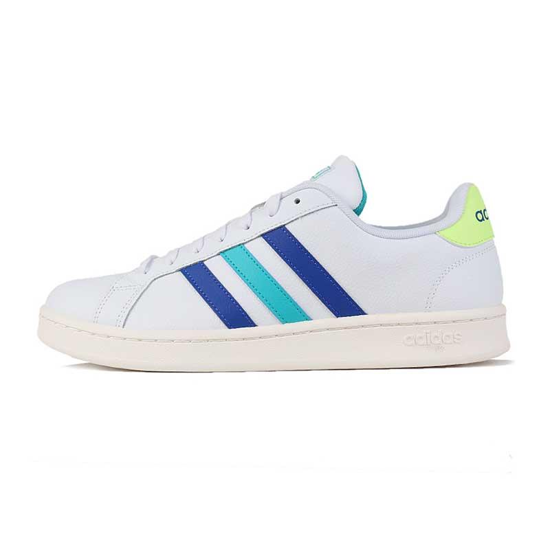 阿迪生活 Adidas NEO  男子 简约舒适透气低帮小白鞋休闲鞋板鞋 EF9172