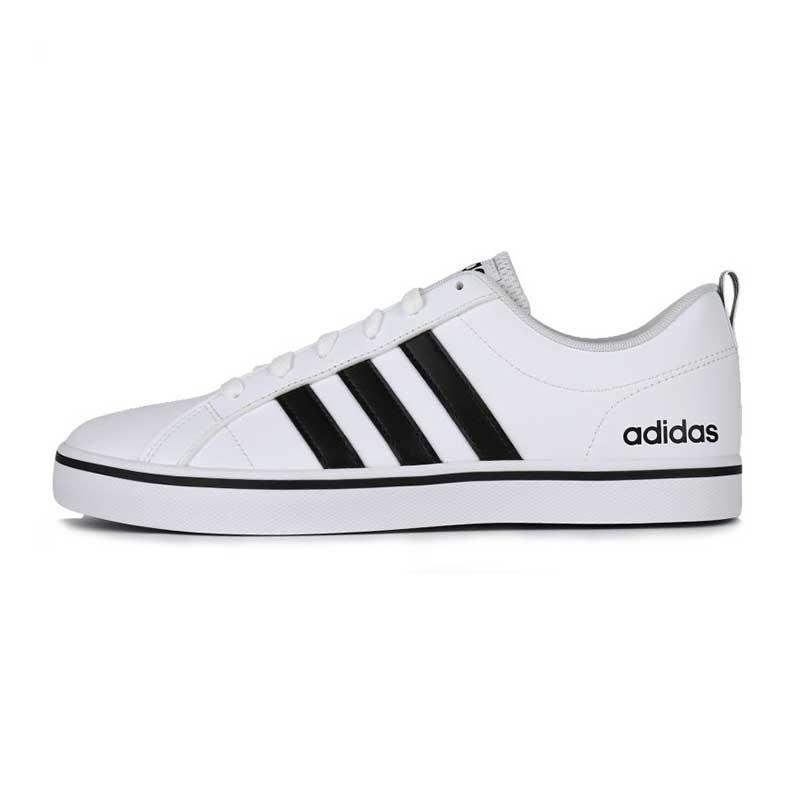 阿迪达斯Adidas NEO  男鞋  2020冬季新款运动鞋时尚三条纹舒适低帮小白鞋休闲鞋滑板鞋 AW4594