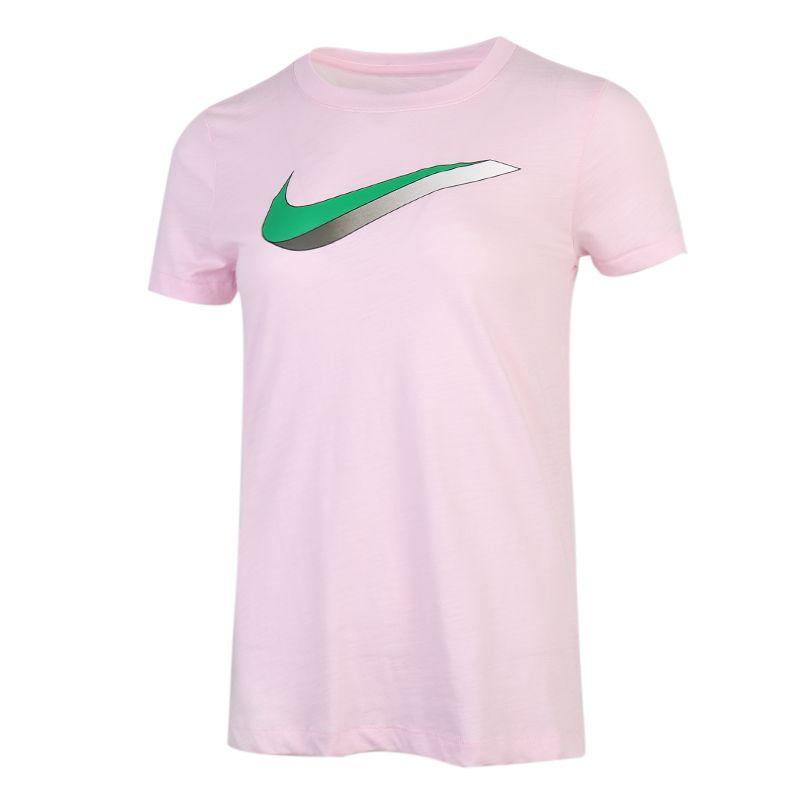 耐克NIKE 女装 运动休闲透气健身训练T恤 CW9477-663