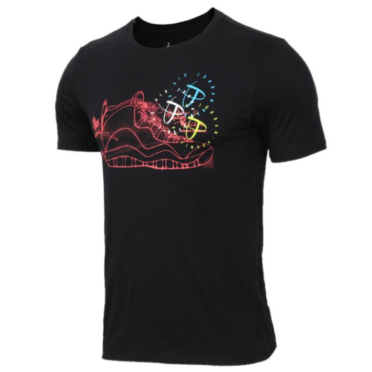 耐克Nike 男装 运动休闲短袖圆领透气舒适纯棉半袖T恤 BQ0274-010