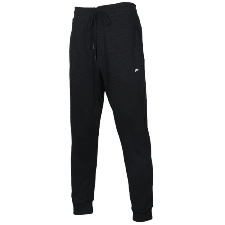 耐克Nike 男裤 慢跑针织休闲训练运动裤时尚修身收口小脚长裤 928494-011