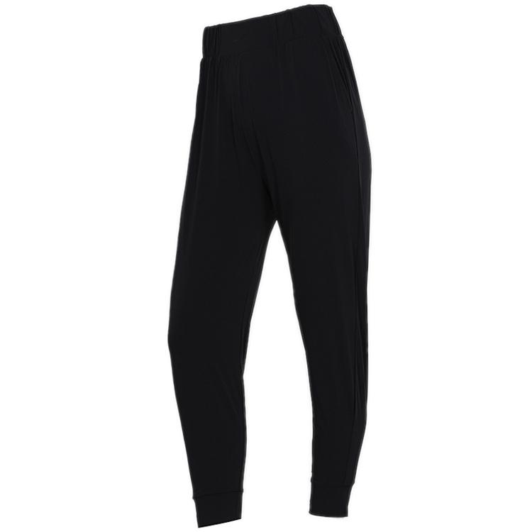 NIKE耐克 女裤 跑步训练健身梭织透气快干修身收脚休闲长裤AQ0295-010