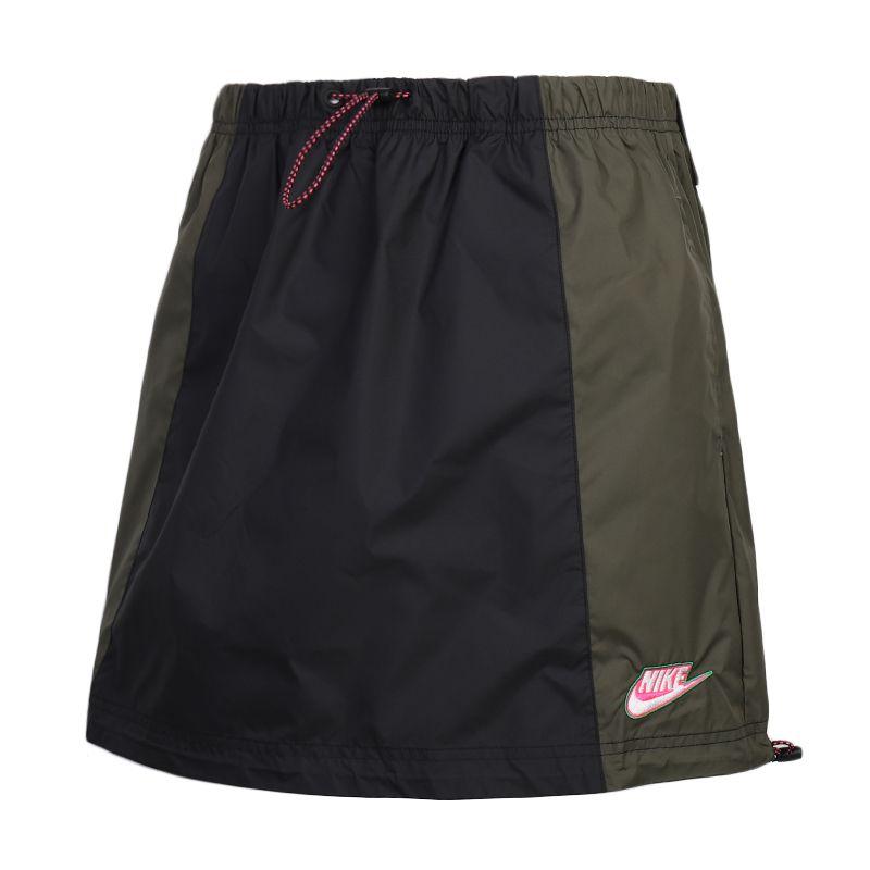 耐克NIKE NSW ICN CLSH SKIRT WVN 女装 运动宽松跑步五分裤 CU5986-010
