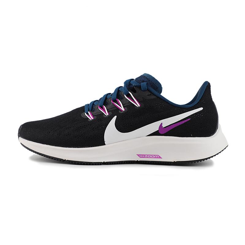 耐克 NIKE 女鞋 运动休闲鞋低帮网面透气ZOOM气垫跑步鞋 AQ2210-012