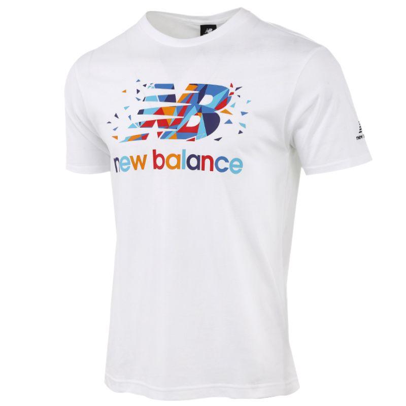 New Balance 男装 运动跑步健身训练休闲T恤 AMT03301-MUN