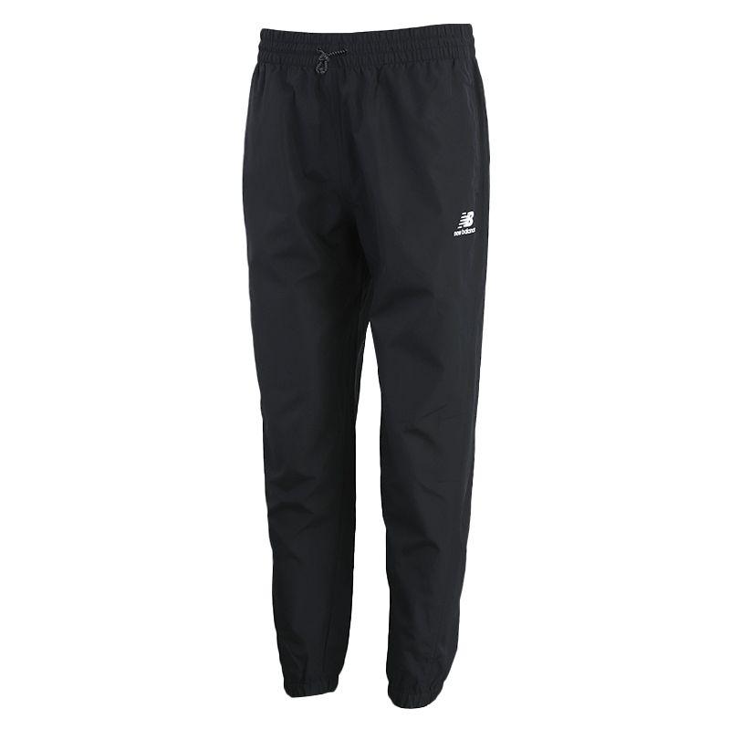 新百伦New Balance 男装 运动束脚休闲梭织长裤 AMP01502-BK