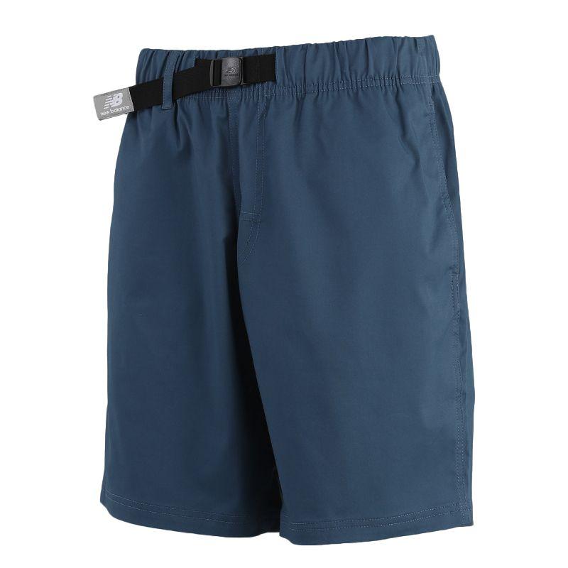New Balance 男装 运动裤休闲训练透气五分裤 AMS01500-SNB