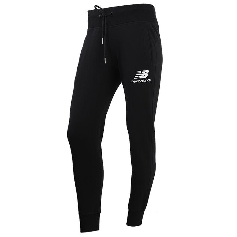 New Balance 女装 针织收脚运动休闲长裤 AWP91545-BK
