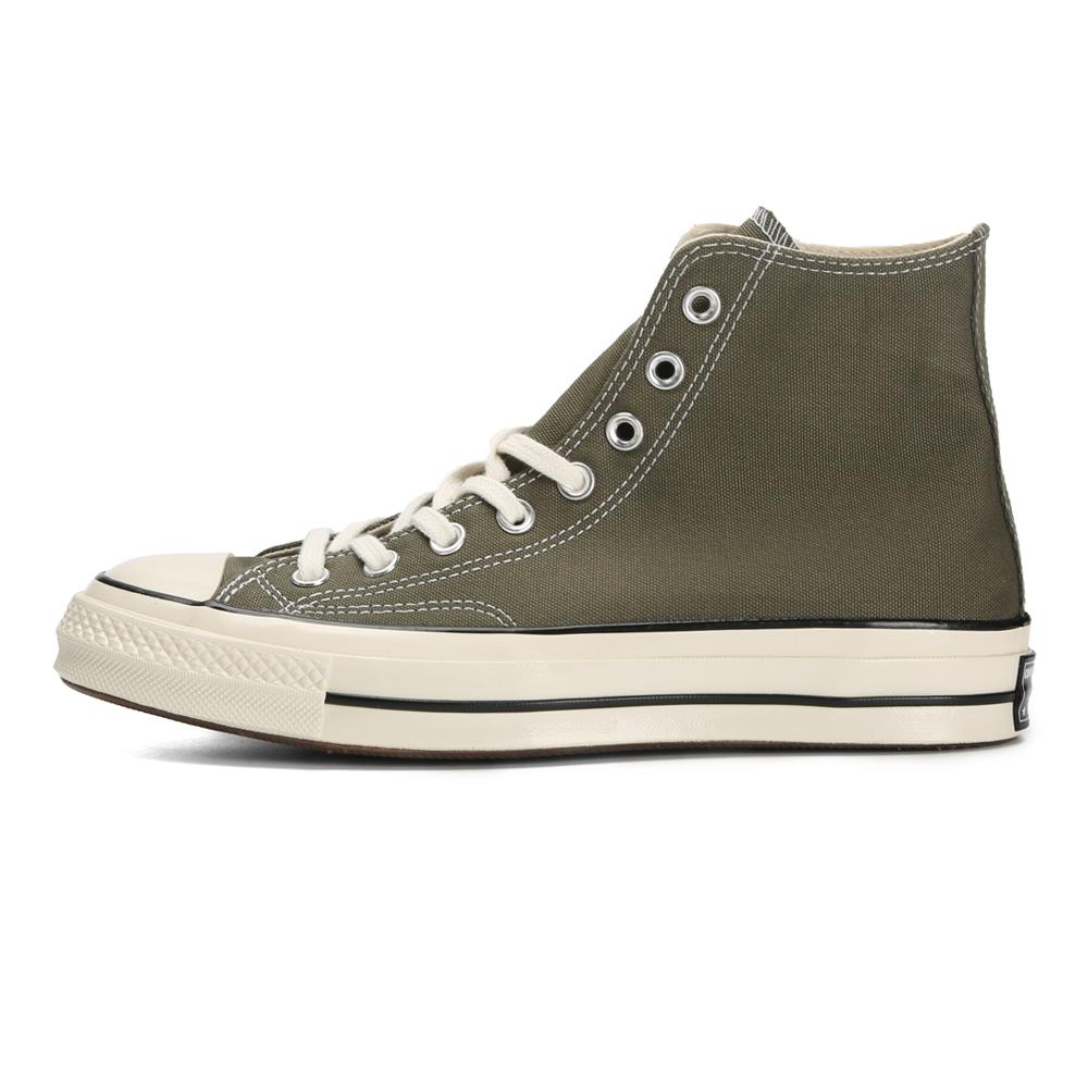 匡威1970S三星标高帮帆布鞋橄榄绿男女板鞋 162052/70S高帮橄榄绿 主推款